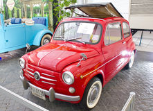 Fiat 600D 600CC On Display. Stock Photos