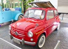 Fiat 600D 600CC On Display. Stock Photos