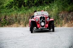 FIAT 508 de Sport 1934 van S Coppa d'Oro Balilla Stock Afbeeldingen
