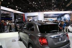 Fiat an der Automobilausstellung Lizenzfreie Stockfotografie