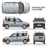 Fiat Doblo Combi SWB 2015 Stock Fotografie