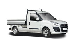 Fiat Doblo open van Stock Images