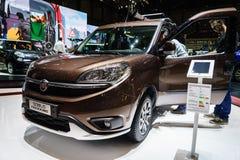 Fiat Doblo Trekking, Motor Show Geneva 2015 Royalty Free Stock Images