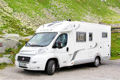Fiat Ducato Royalty Free Stock Photography