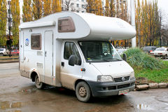 Fiat Ducato Royalty Free Stock Images