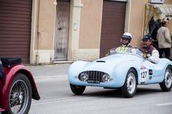 FIAT 500 een Sport Stock Afbeeldingen