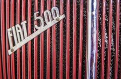 1936 Fiat-Embleemmerk buiten auto Royalty-vrije Stock Afbeeldingen