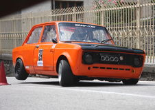 Fiat 128 esportes do carro de competência imagem de stock