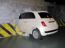 Fiat 500 exhibited at the National Museum of Cars. Stock Photography