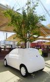 Fiat 500, Expo 2015, Milaan Stock Afbeelding