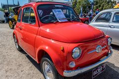 Fiat 500f Stock Images