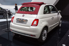 2015 Fiat 500 Stock Photography