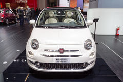 2015 Fiat 500 Royalty Free Stock Photo