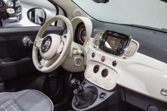 2015 Fiat 500 Royalty Free Stock Photo