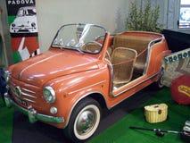 Fiat 600 Ghia agradavelmente Imagem de Stock Royalty Free