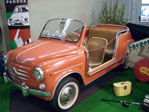 Fiat 600 Ghia Jolly Royalty Free Stock Image