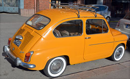 The Fiat 600 Royalty Free Stock Images