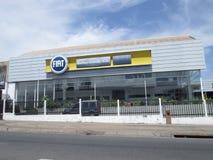 Fiat-het autohandel drijven in Puerto Ordaz Stock Fotografie