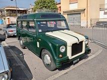 Fiat 1100 - 103 I (1957) behoorde tot de Italiaanse politie Royalty-vrije Stock Foto