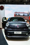 Fiat 500L Trekking, Motor Show Geneve 2015. Royalty Free Stock Photo