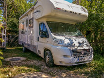 Fiat Laika, italy trailer travel vehicle Stock Images