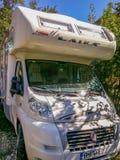 Fiat Laika, italy trailer travel vehicle Royalty Free Stock Image