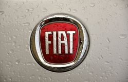 Fiat logo Royalty Free Stock Image
