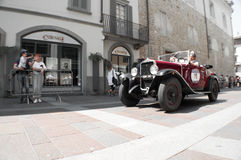 FIAT 514 at Mille Miglia 2016 Royalty Free Stock Photography