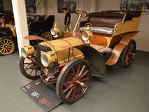 FIAT mod. 12/16 HP at Museo Nazionale dell'Automobile. The 1902 FIAT mod. 12/16 HP exposed in the Museo Nazionale dell'Automobile of Turin (Piedmont, Italy Stock Photo