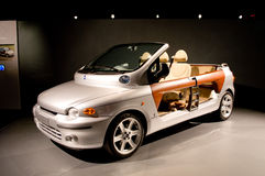 FIAT Multipla spider at useo Nazionale dell`Automobile Royalty Free Stock Photos