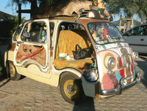 FIAT 600 Multipla Royalty Free Stock Photography