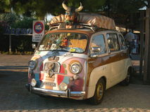 FIAT 600 Multipla Royalty Free Stock Images
