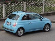 Fiat novo 500 Foto de Stock Royalty Free