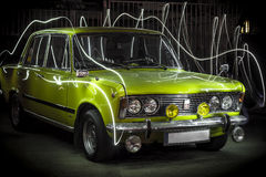 Fiat 125p Stock Photos