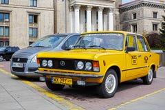 Fiat 125p eine Ikone des polnischen Automobils Stockfoto