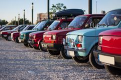Fiat 126p royalty free stock photo