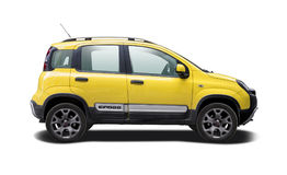 Fiat Panda Cross Royaltyfri Bild