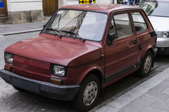 Fiat polski (Fiat 126p ) Royalty Free Stock Images
