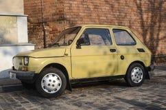 Fiat polski (Fiat 126p ) Stock Photography