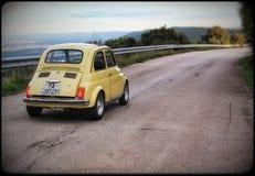 Fiat 500 royalty free stock photos