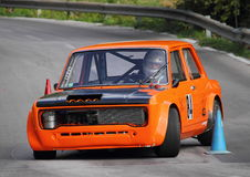 Fiat 128 prototype race car Royalty Free Stock Photography
