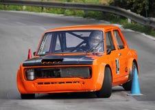 Fiat 128 prototypracerbil Royaltyfri Fotografi