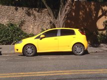 Fiat Punto Bawić się Zdjęcie Stock