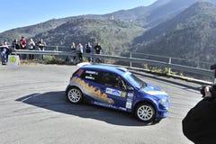 Fiat punto Rally Royalty Free Stock Photos