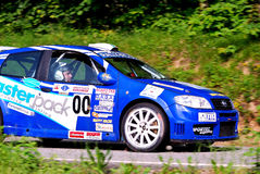 Fiat Punto Safety Car Royalty Free Stock Photography