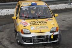 Fiat 600 racerbil Royaltyfri Foto