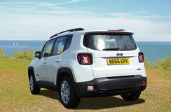 Fiat renegade jeep Royalty Free Stock Images