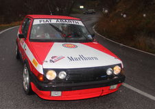 Fiat Ritmo Abarth 130 Royalty Free Stock Image