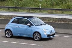 Fiat 500 on the road Stock Photos