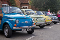 Fiat 500's Stock Images